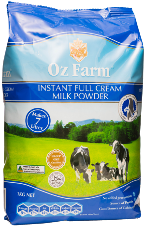 Oz Farm Full Cream milk powder